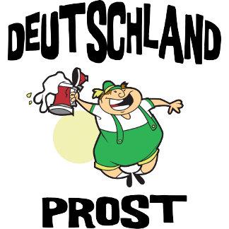 Deutschland Drinking T-Shirt Gift Cards