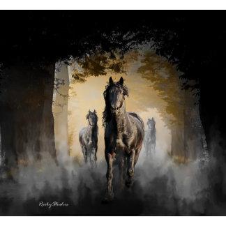 Friesian Horse Hallo