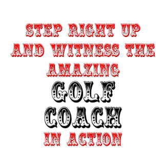 Amazing Golf Coach In Action