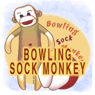 Bowling Sock Monkey