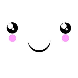 cute Kawaii Face t-shirts and more