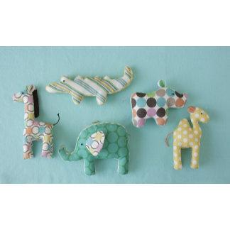 """fabric baby animal toys poster print"""
