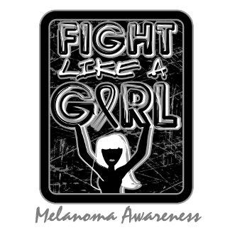 Fight Like A Girl Slogan Sign Melanoma