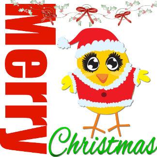 Merry Christmas Santa Chick v2