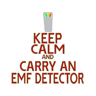 Keep Calm and Carry an EMF Detector (Parody)