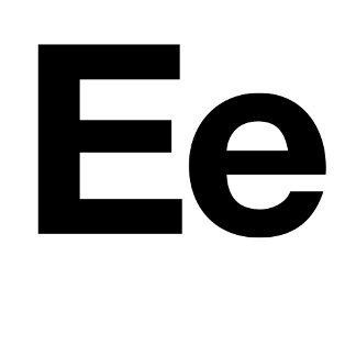 Helvetica Ee