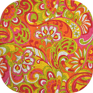 Russian Floral Watercolor Paisley