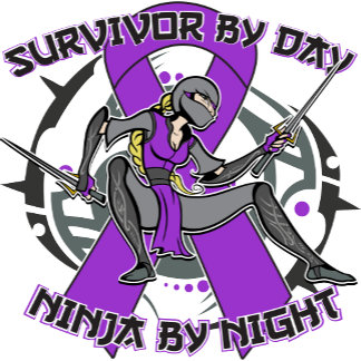 Leiomyosarcoma Survivor By Day Ninja By Night