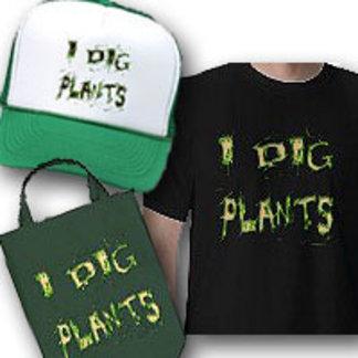 I Dig Plants Guy Gardener Slogan