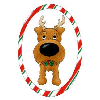 Irish Terrier - Big Nose Christmas