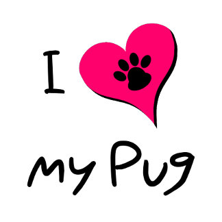 I [heart] Love my Pug