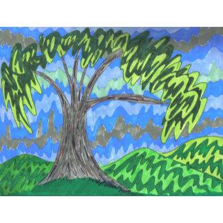 Burchfield Style Tree 1