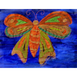 Blue Butterfly iverted
