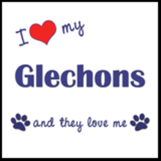 I Love My Glechons (Multiple Dogs)