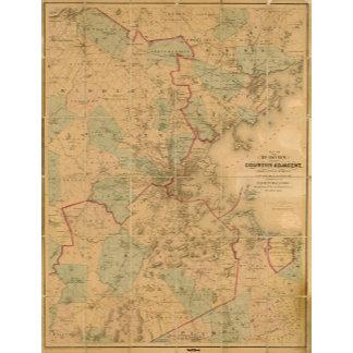 Map Of Boston