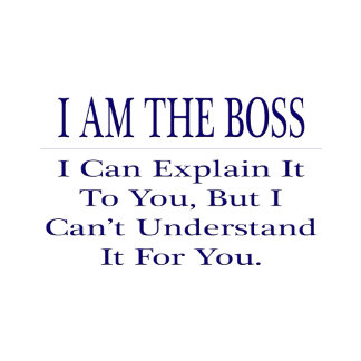Funny Boss .. Explain Not Understand