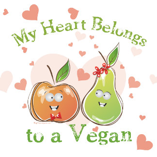 My Heart Belongs to a Vegan T-shirts and Gifts