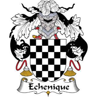Echenique Family Crest
