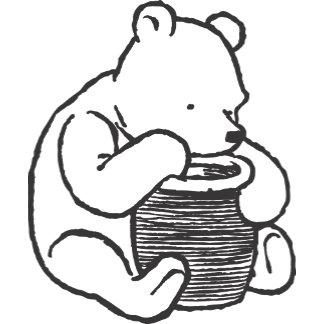 Sketch Winnie the Pooh 3