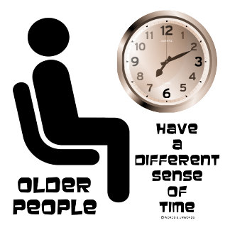 Older People Have A Different Sense Of Time Clock