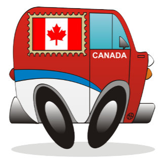Canadian Mail Truck