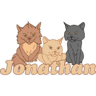 Personalized Jonathan Cat Lover