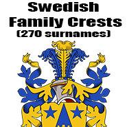 Swedish Family Crests
