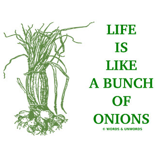 Life Is Like A Bunch Of Onions (Food For Thought)