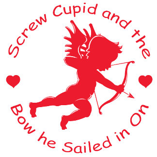 Anti Cupid T-shirts and Gifts