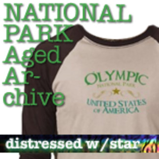 Aged Archive National Park T-Shirts