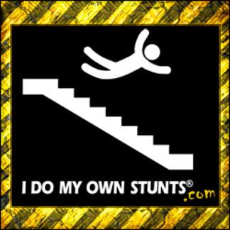 Stairs Falling Stunts