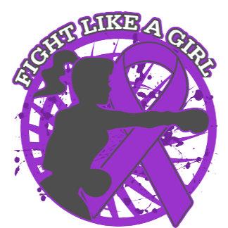 Epilepsy Fight Like A Girl Pose