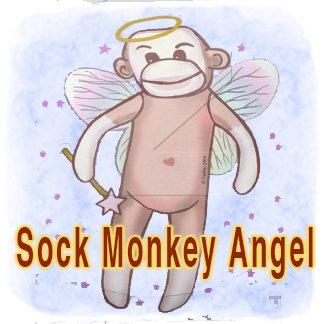 Sock Monkey Angel
