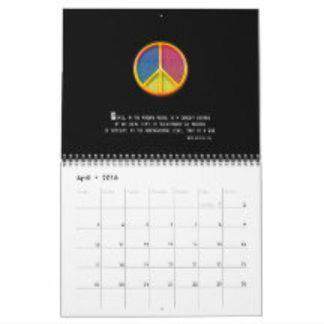 2016 Peace Symbol | Wall Calendars