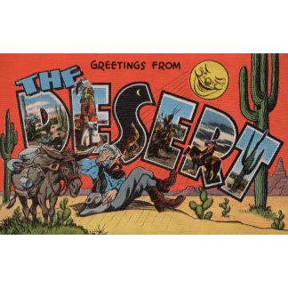Greetings from the Southwest Desert