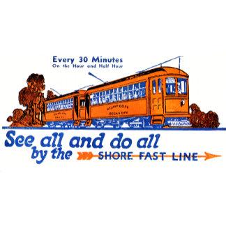 Shore Fast Line Trolley Service