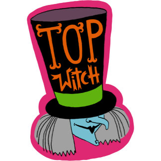 Halloween Top Witch Hat