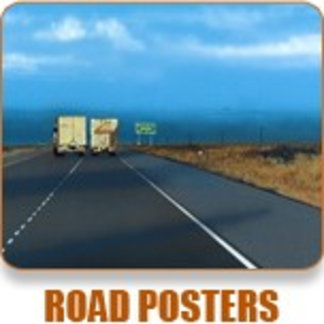 On the Road Posters