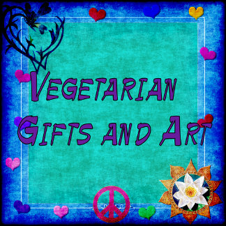VEGETARIAN GIFTS AND ART