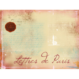 Lettres de Paris