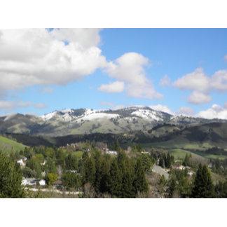 Snowy Mt. Diablo