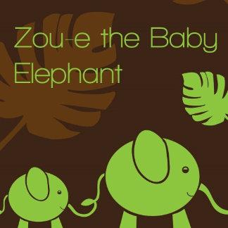 Zou-E the Baby Elephant