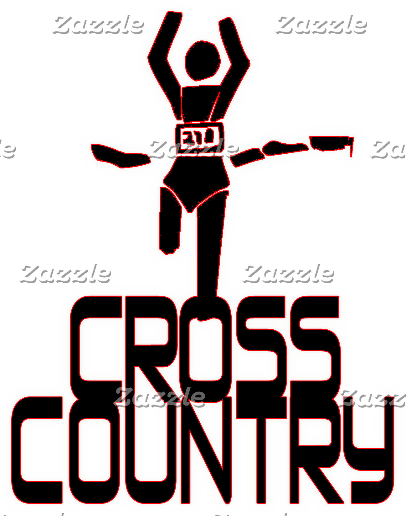 CROSS COUNTRY FINISH LINE - WINNER