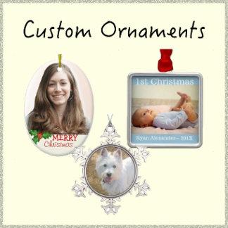 Custom Ornaments