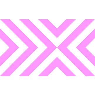 Pink and White Chevrons