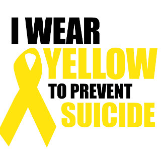 I wear yellow to prevent suicide