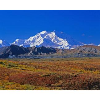 Mt . McKinley Denali National Park , Alaska.