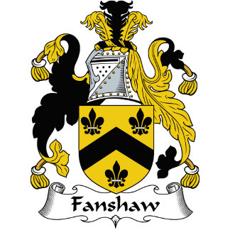 Fanshaw Family Crest / Coat of Arms