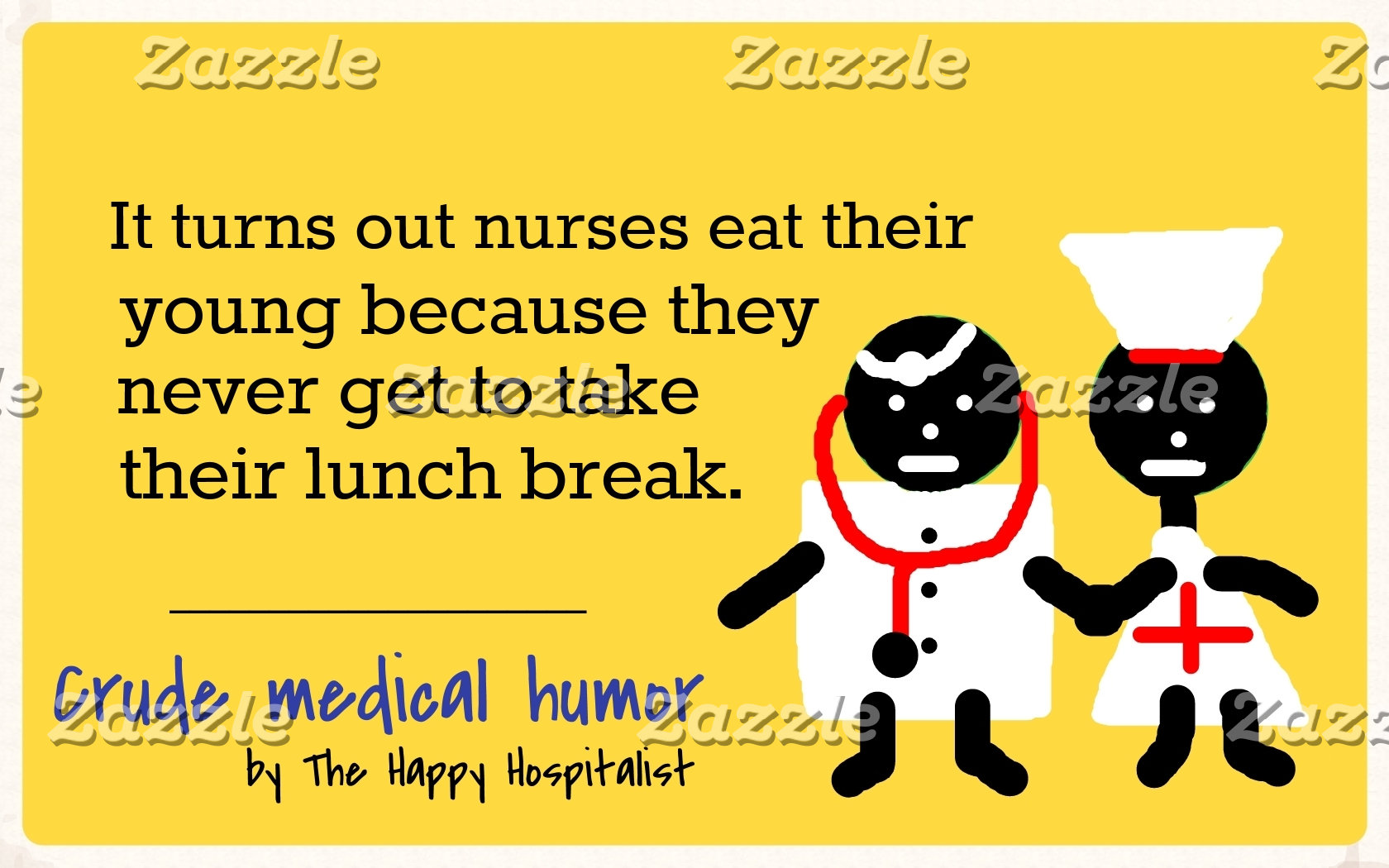 It turns out nurses eat their young because the...