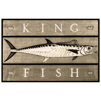 Kingfish Vintage Black & White